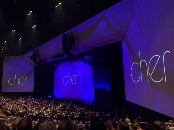 Park Theater at Park MGM, section: 302, row: G, seat: 7