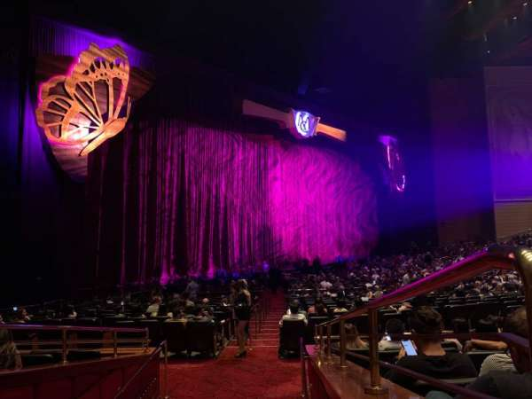 The Colosseum At Caesars Palace, section: 206, row: G, seat: 610