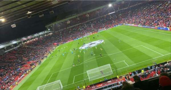 Old Trafford, section: E334, row: 7, seat: 89