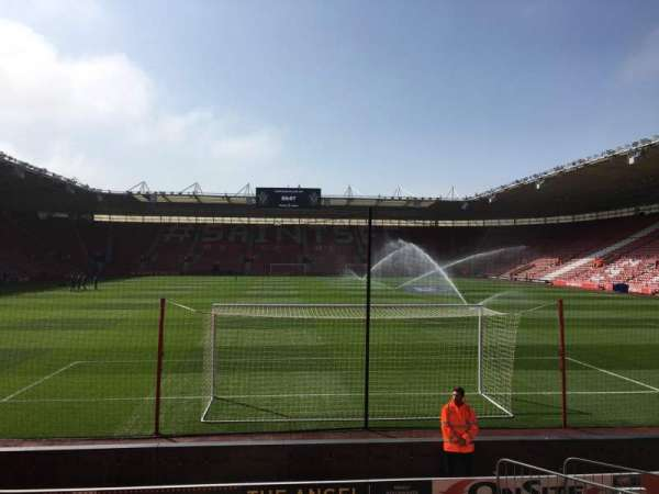 St Mary's Stadium, section: 43, row: K, seat: 1121