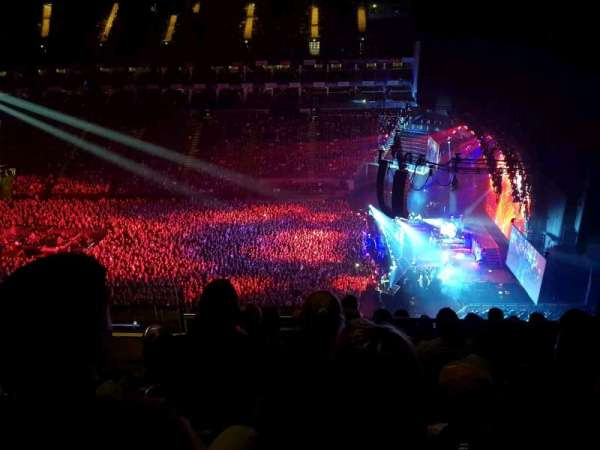 The O2 Arena, section: 421, row: L, seat: 960
