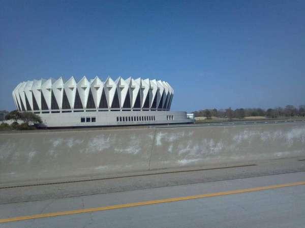 Hampton Coliseum, section: Outside