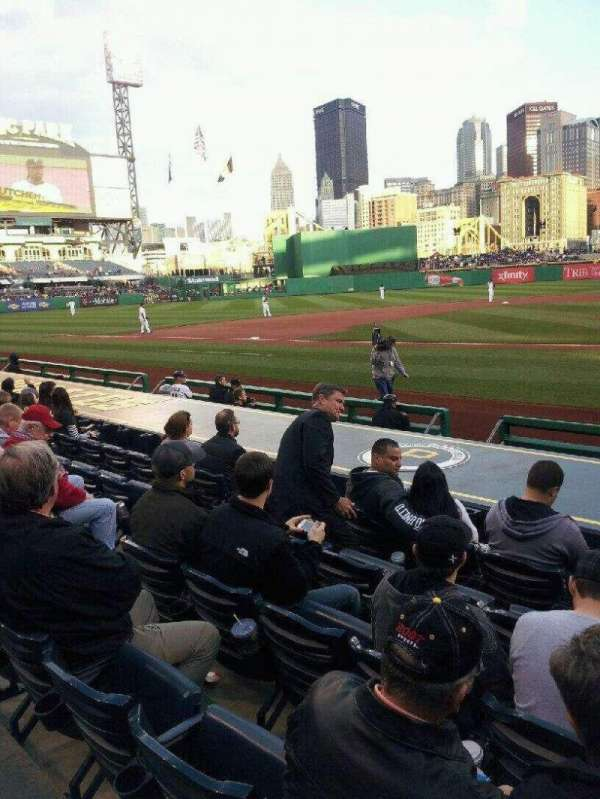 PNC Park, section: 20, row: L, seat: 5