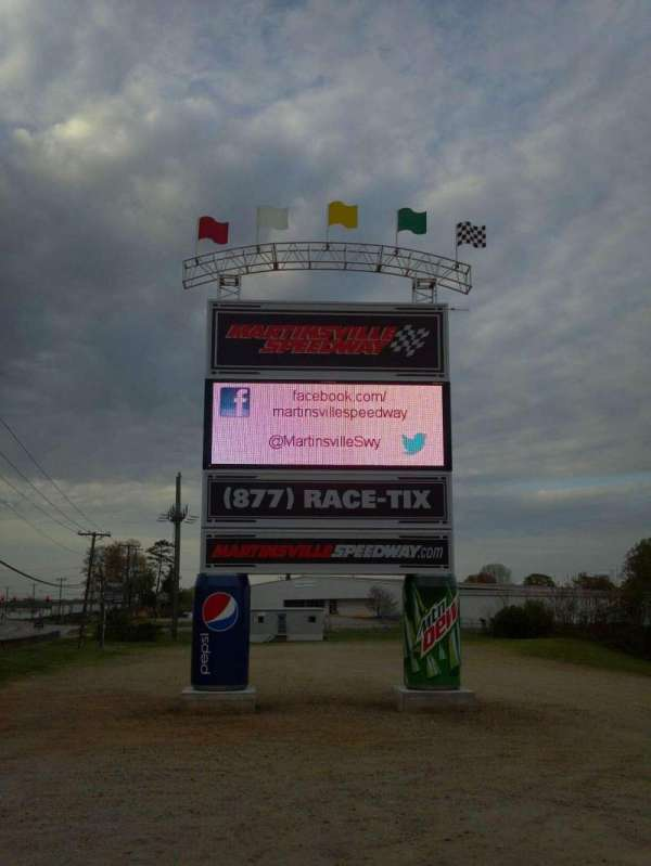 Martinsville Speedway, section: Lots