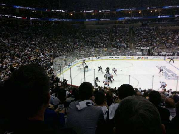 PPG Paints Arena, section: 114, row: U