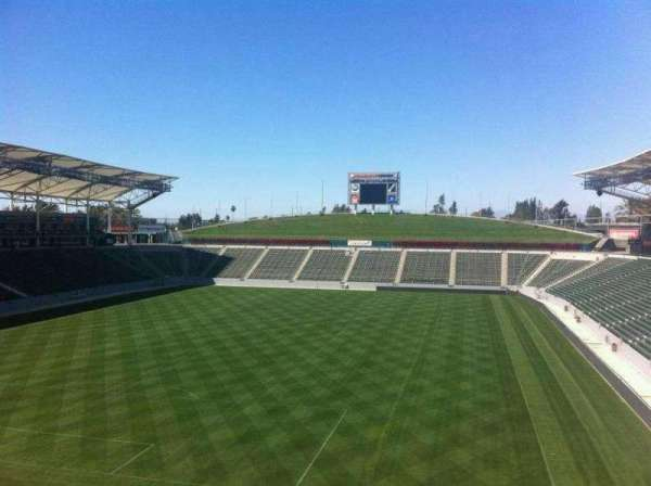 Dignity Health Sports Park, section: American Express Stadium Club