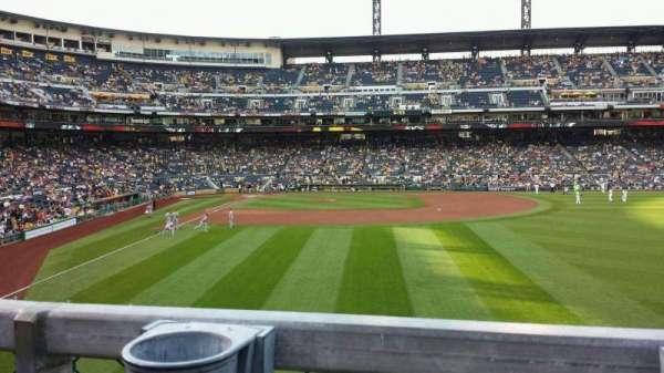PNC Park, section: 144, row: A, seat: 3