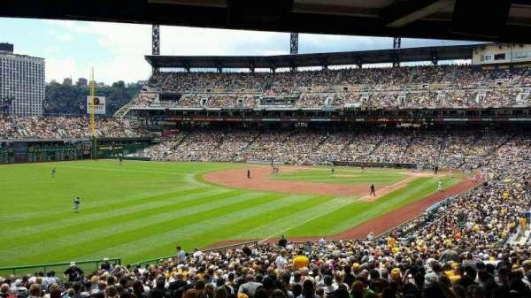 PNC Park, section: 131, row: HH, seat: 11
