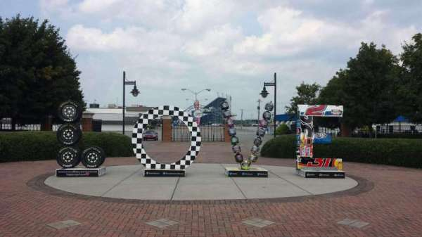 Richmond International Raceway, section: Entrance