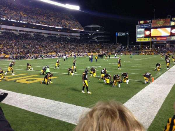 Heinz Field, section: 125, row: B, seat: 4