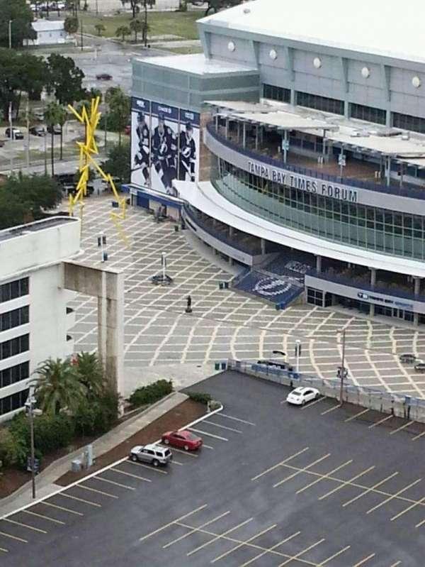 Amalie Arena, section: West Entrance