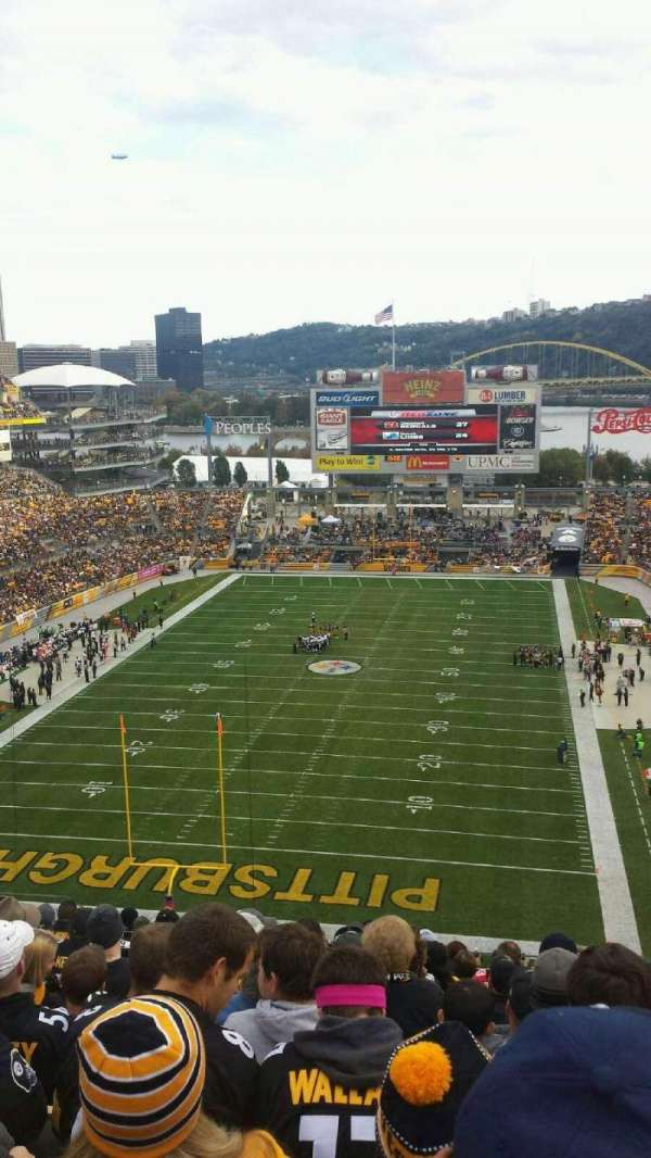 Heinz Field, section: 524, row: S, seat: 15