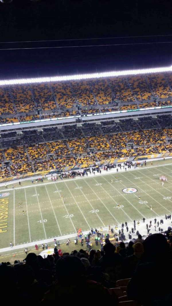 Heinz Field, section: 532, row: NN, seat: 3