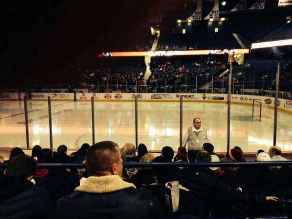 Allstate Arena, section: 101, row: C