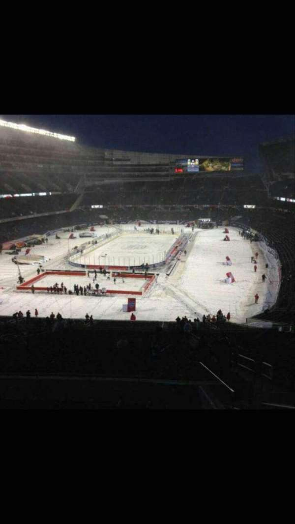 Soldier Field, section: 350, row: 8, seat: 22