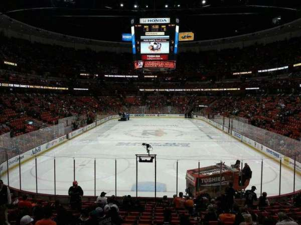 Honda Center, section: 201, row: S, seat: 10