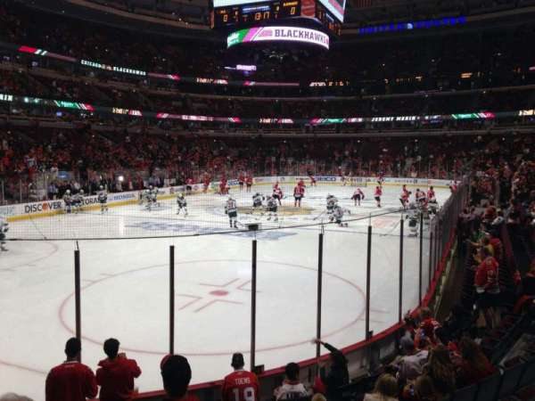 United Center, section: 115, row: 9, seat: 9