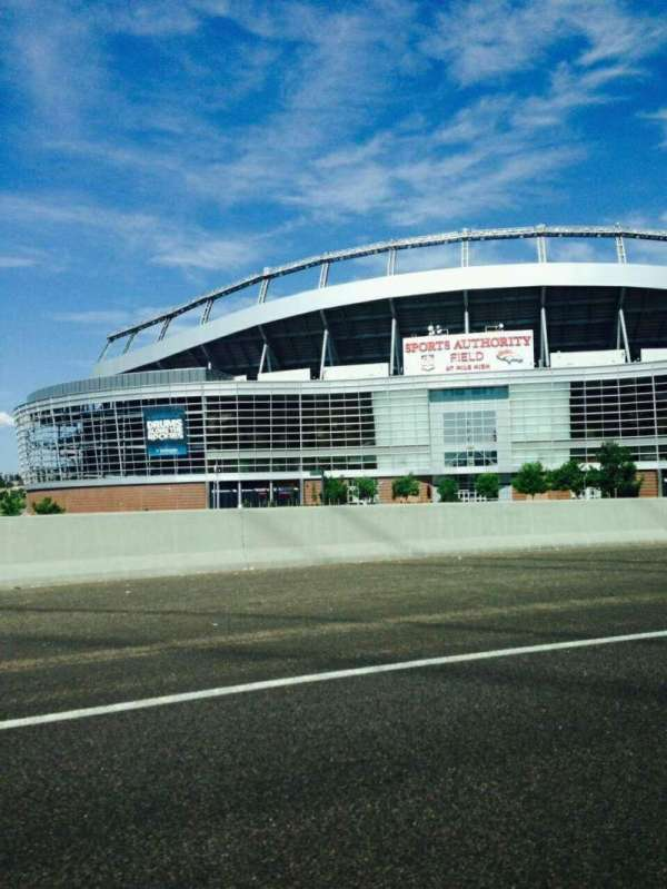 Empower Field at Mile High Stadium, section: Outside