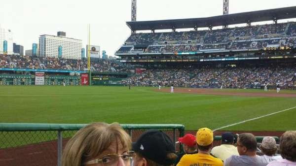 PNC Park, section: 31, row: H, seat: 4