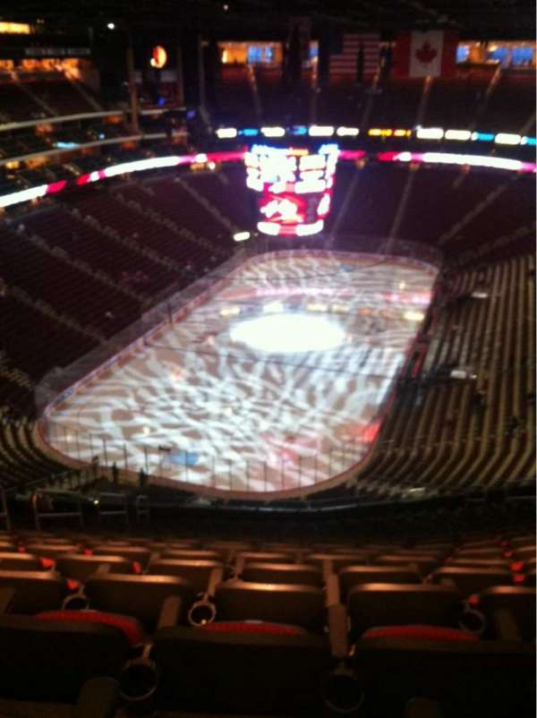 Gila River Arena, section: 206, row: Q, seat: 15