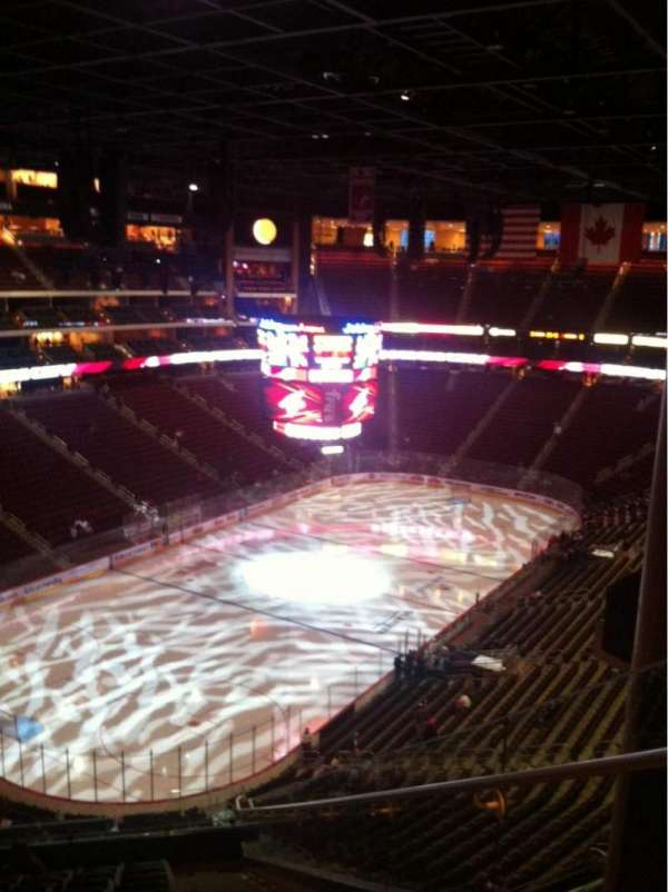 Gila River Arena, section: 205, row: L, seat: 2