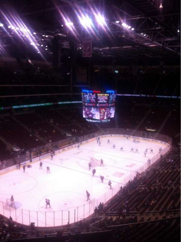 Gila River Arena, section: 220, row: I, seat: 3