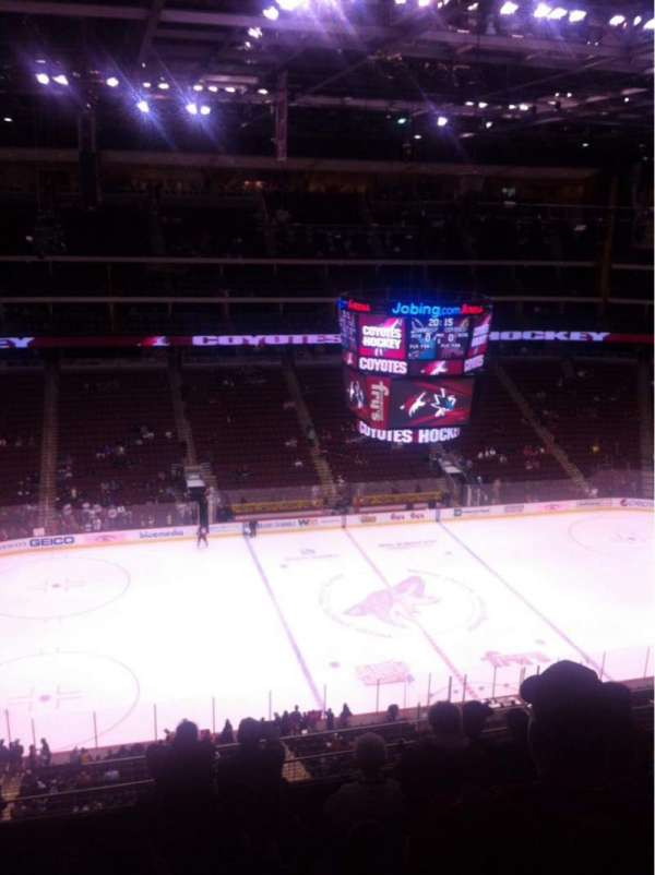 Gila River Arena, section: 217, row: G, seat: 11