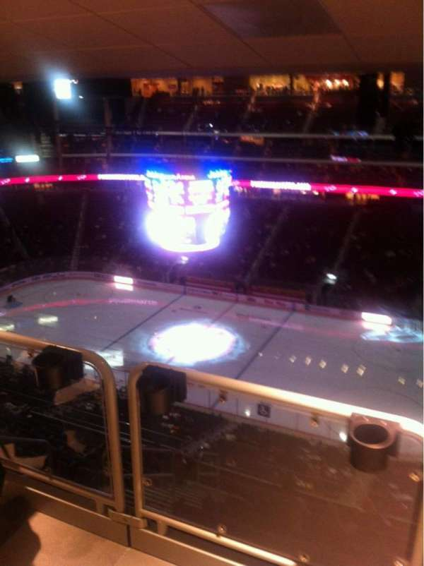 Gila River Arena, section: 213, seat: 5