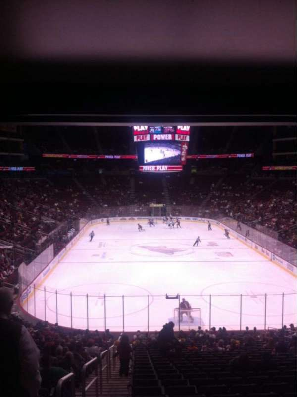 Gila River Arena, section: 117, row: Y, seat: 14