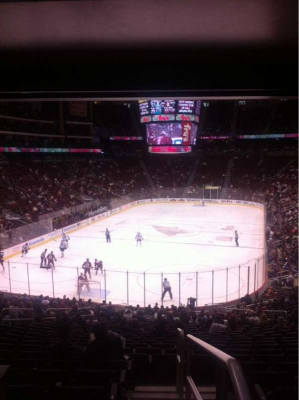 Gila River Arena, section: 116, row: Y, seat: 12