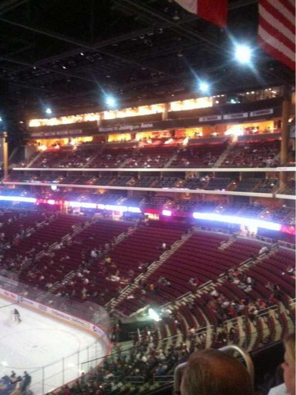 Gila River Arena, section: 225, row: D, seat: 3