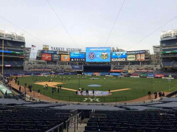 Yankee Stadium, section: 120a, row: 26, seat: 10