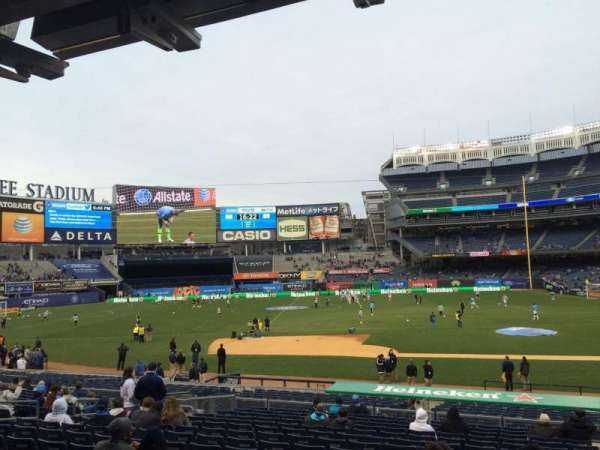 Yankee Stadium, section: 124, row: 26, seat: 2