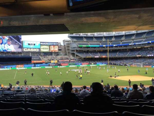 Yankee Stadium, section: 127b, row: 30, seat: 9