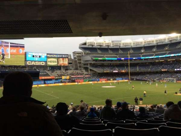 Yankee Stadium, section: 129, row: 30, seat: 11