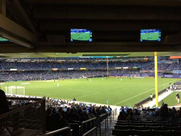 Yankee Stadium, section: 108, row: 30, seat: 20