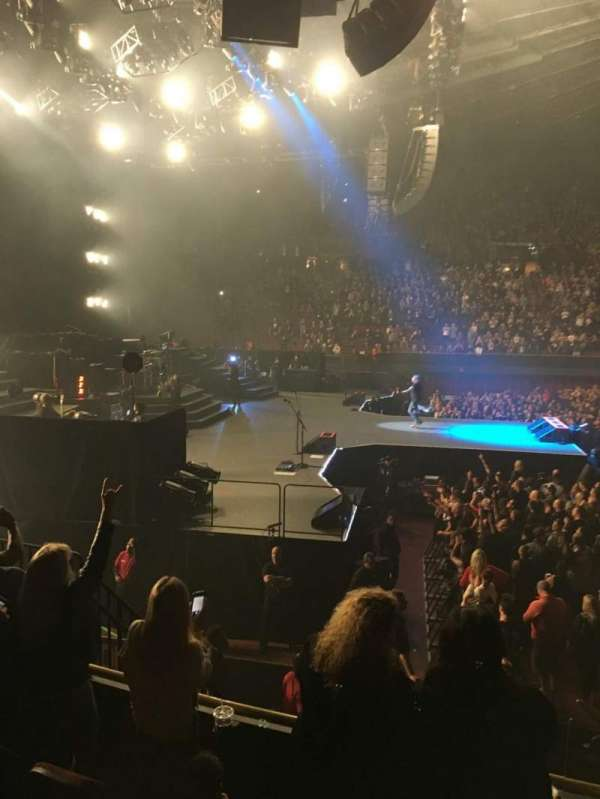 The Forum, section: 125, row: 4, seat: 8