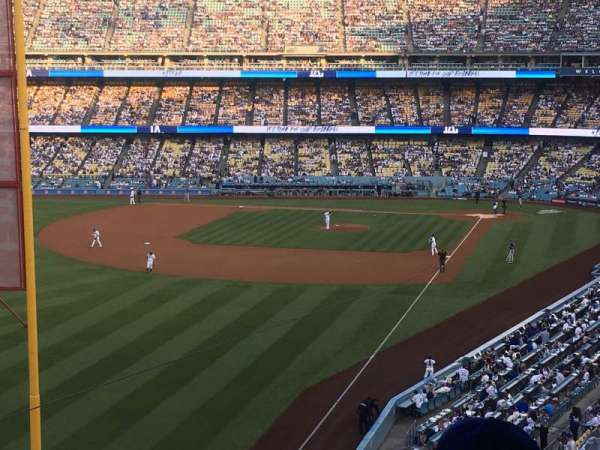 Dodger Stadium, section: 255 Club, row: B, seat: 3