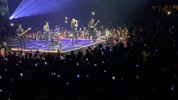 The Forum, section: 129, row: 7, seat: 11