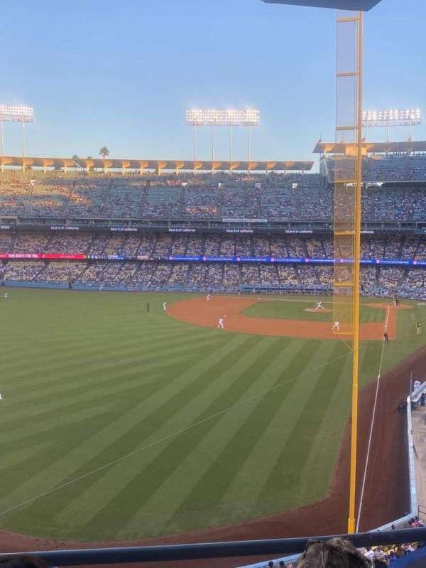 Dodger Stadium, section: 259 Club, row: C, seat: 8