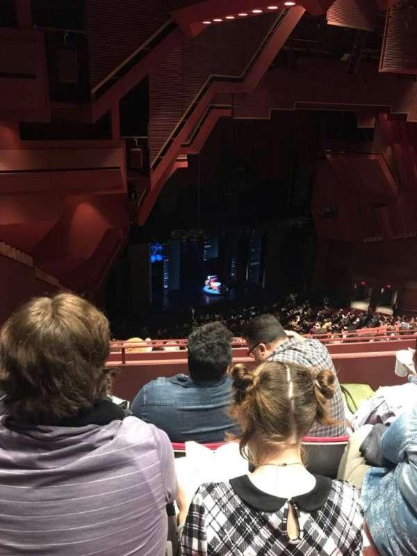 Segerstrom Hall, section: Balcony, row: P, seat: 140