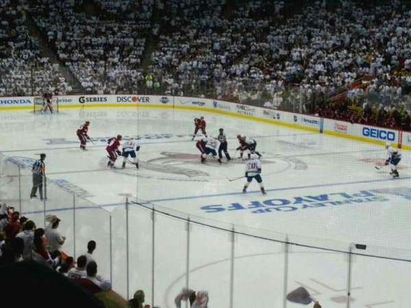 Gila River Arena, section: 108, row: 16, seat: 3