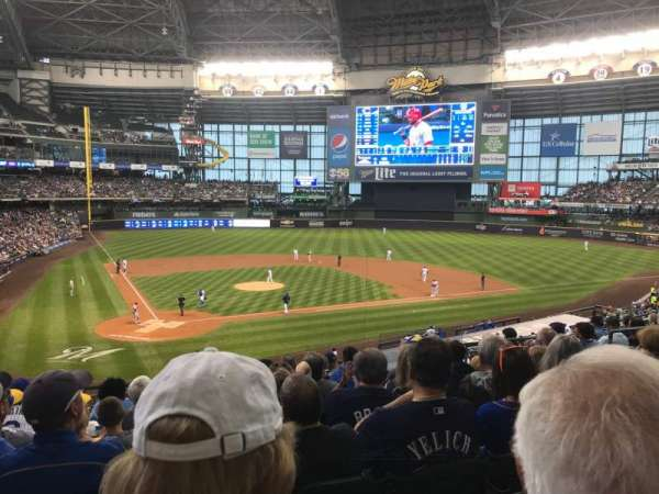 Miller Park, section: 216, row: 9, seat: 7