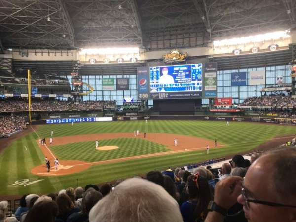 Miller Park, section: 216, row: 9, seat: 8