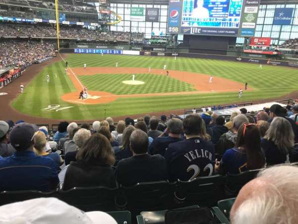 Miller Park, section: 216, row: 8, seat: 7