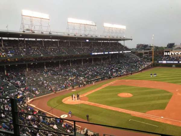 Wrigley Field, section: 326R, row: 2, seat: 6