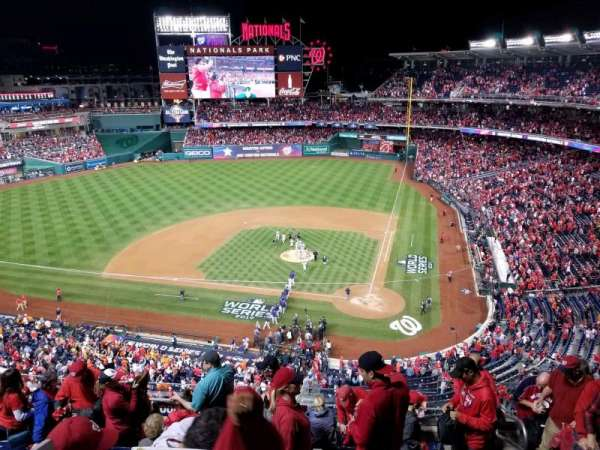 Nationals Park, section: 311