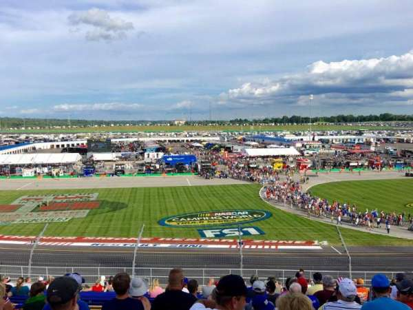 Kentucky Speedway, section: Grandstand 4J, row: 22, seat: 5