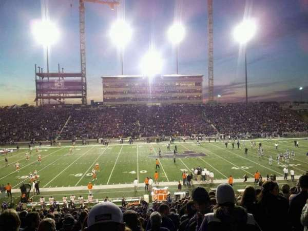 Bill Snyder Family Stadium, section: 23, row: 34, seat: 2