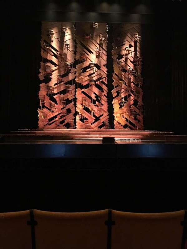 Auditorium Theatre, section: Center, row: D, seat: 305